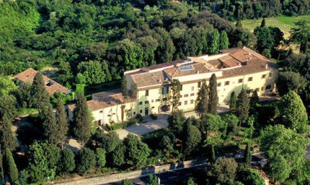 Decorazioni in villa citt nascosta for Villas firenze